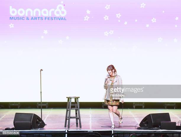 Comedian Natasha Leggero performs onstage during Day 1 of the 2017 Bonnaroo Arts And Music Festival on June 8 2017 in Manchester Tennessee