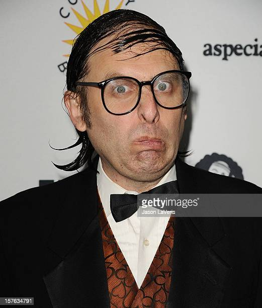 Comedian Neil Hamburger attends IFC's 2012 Comedy Bang Bang Nativity Pageant Holiday Comedy Show benefiting the LA Regional Food Bank at The Ricardo...