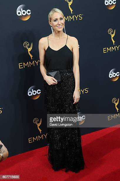 Comedian Nikki Glaser arrives at the 68th Annual Primetime Emmy Awards at the Microsoft Theater on September 18 2016 in Los Angeles California