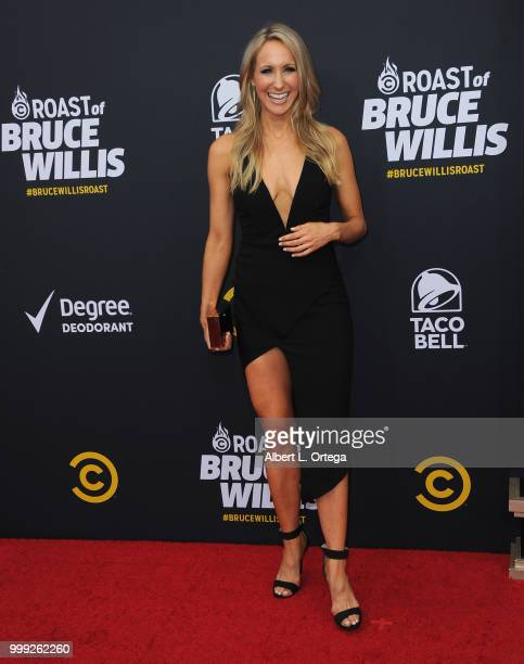 Comedian Nikki Glaser arrives for the Comedy Central Roast Of Bruce Willis held at Hollywood Palladium on July 14 2018 in Los Angeles California