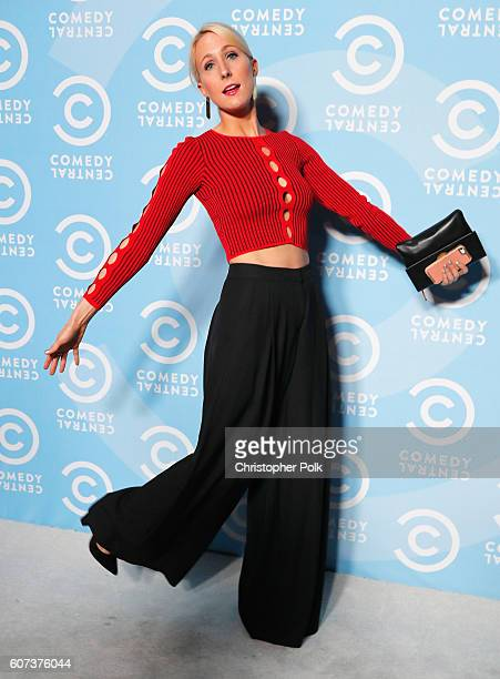 Comedian Nikki Glaser attends the Comedy Central PreEmmys Party at Boulevard3 on September 17 2016 in Hollywood California
