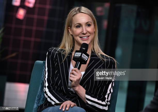 Comedian Nikki Glaser visits Build Series to discuss her Netflix standup special Bangin' at Build Studio on November 07 2019 in New York City
