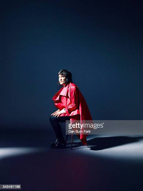 Comedian Noel Fielding is photographed for the Independent on September 10 2015 in London England