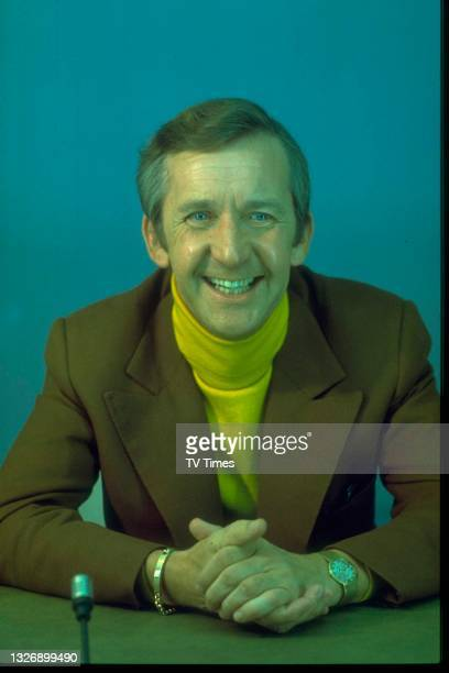 Comedian Norman Vaughan during an appearance on game show Celebrity Squares, 1979.