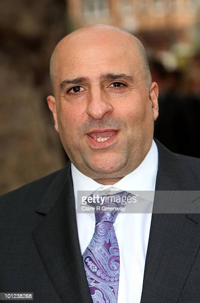 Comedian Omid Djalili arrives at the UK premiere of Sex And The City 2 at Odeon Leicester Square on May 27, 2010 in London, England.