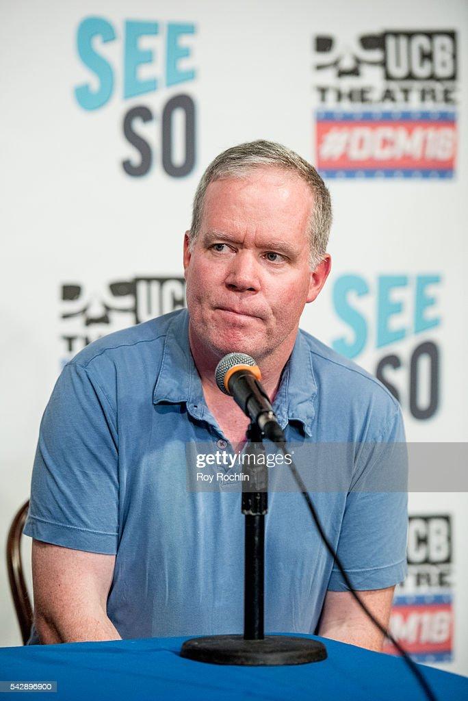 Comedian Owen Burke attends the 18th Annual Del Close Improv Comedy Marathon Press Conference at Upright Citizens Brigade Theatre on June 24, 2016 in New York City.