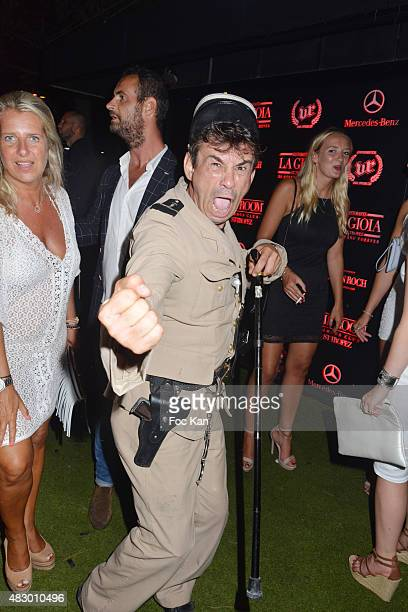 Comedian Patrick Chagnaud attends the 'Fight Night 2015' After Party at the VIP Room Saint Tropez n on August 4, 2015 in Saint-Tropez, France.
