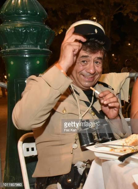 Comedian Patrick Chagnaud attends the 'Sauvez le Coeur des Femmes' Ajila Women Care Auction Against Women's Cardiovascular Diseases Petanque...