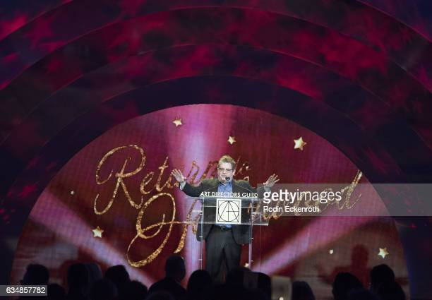 Comedian Patton Oswalt speaks onstage at 21st Annual Art Directors Guild's Excellence In Production Design Awards at The Ray Dolby Ballroom at...