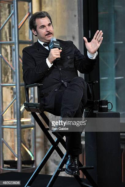 Comedian Paul F Tompkins attends AOL Build presents Paul F Tompkins Crying and Driving at AOL Studios In New York on October 9 2015 in New York City