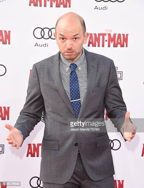 Comedian Paul Scheer arrives at the Los Angeles Premiere of Marvel Studios 'AntMan' at Dolby Theatre on June 29 2015 in Hollywood California
