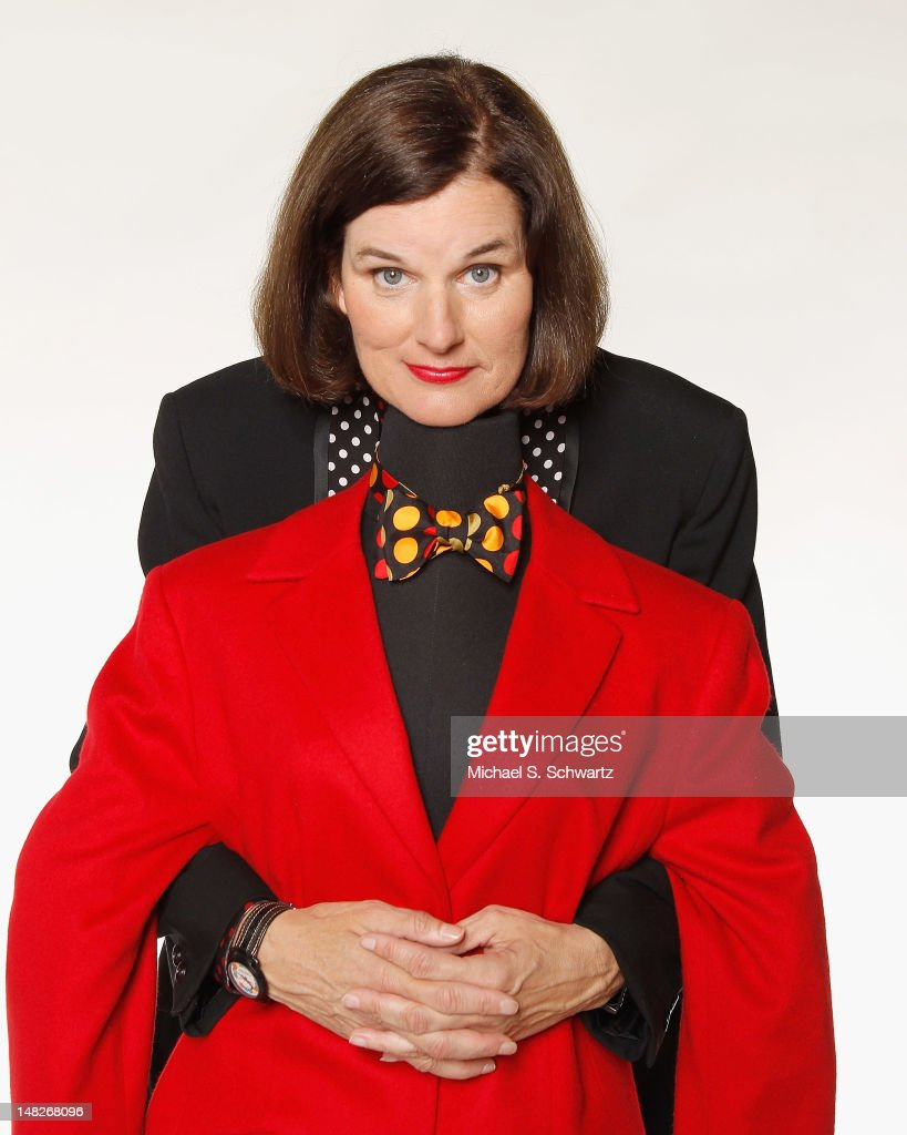 Comedian Paula Poundstone poses during a portrait session at The Ice House Comedy Club on July 12, 2012 in Pasadena, California.
