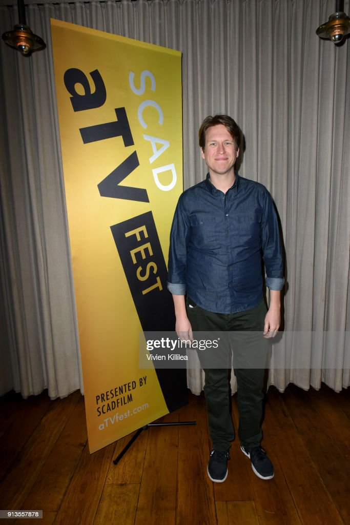 Comedian Pete Holmes attends the SCAD aTVfest 2018 x EW Party at Lure on February 2, 2018 in Atlanta, Georgia.