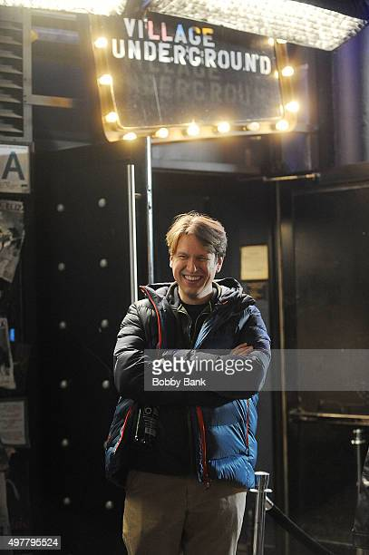 Comedian Pete Holmes on the set of HBO's pilot Crashing on November 18 2015 in New York City