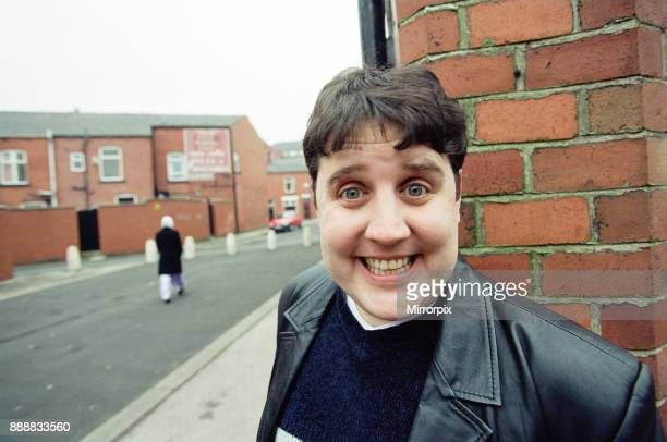 Comedian Peter Kay pictured in Bolton 26th January 2000
