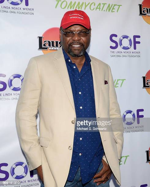 Comedian Petri Byrd attends the SarcomaOma Foundation Comedy Benefit at The Laugh Factory on June 6 2018 in West Hollywood California