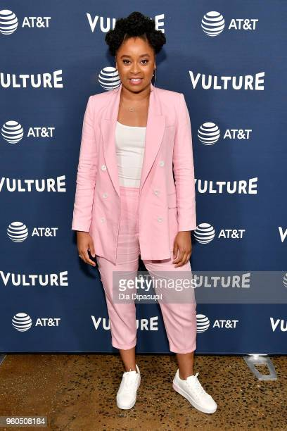 Comedian Phoebe Robinson attends Day Two of the Vulture Festival Presented By ATT at Milk Studios on May 20 2018 in New York City