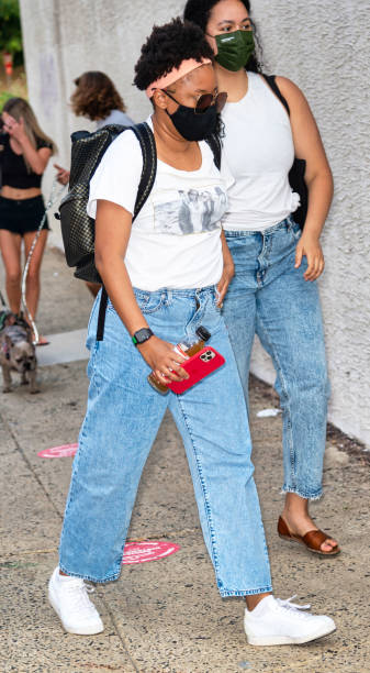 USA: Celebrity Sightings In United States - July 22, 2021