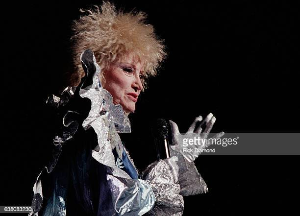Comedian Phyllis Diller performs at The Fox Theater in Atlanta Georgia February 10 1987