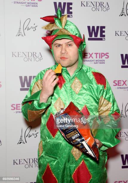 Comedian Piff the Magic Dragon attends the premiere of 'Sex Tips for Straight Women from a Gay Man' at the Paris Las Vegas on June 8 2017 in Las...