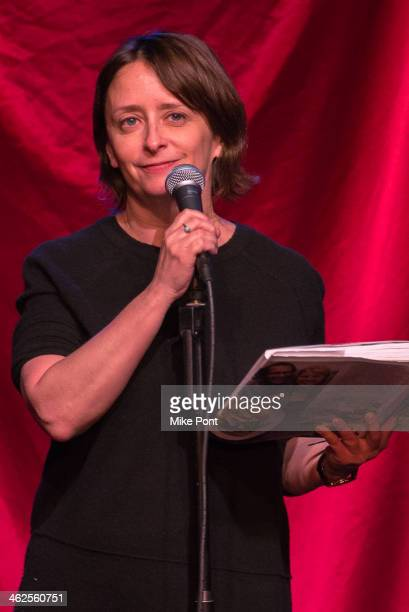 Comedian Rachel Dratch performs in the 2014 Celebrity Autobiography show at Stage 72 on January 13 2014 in New York City
