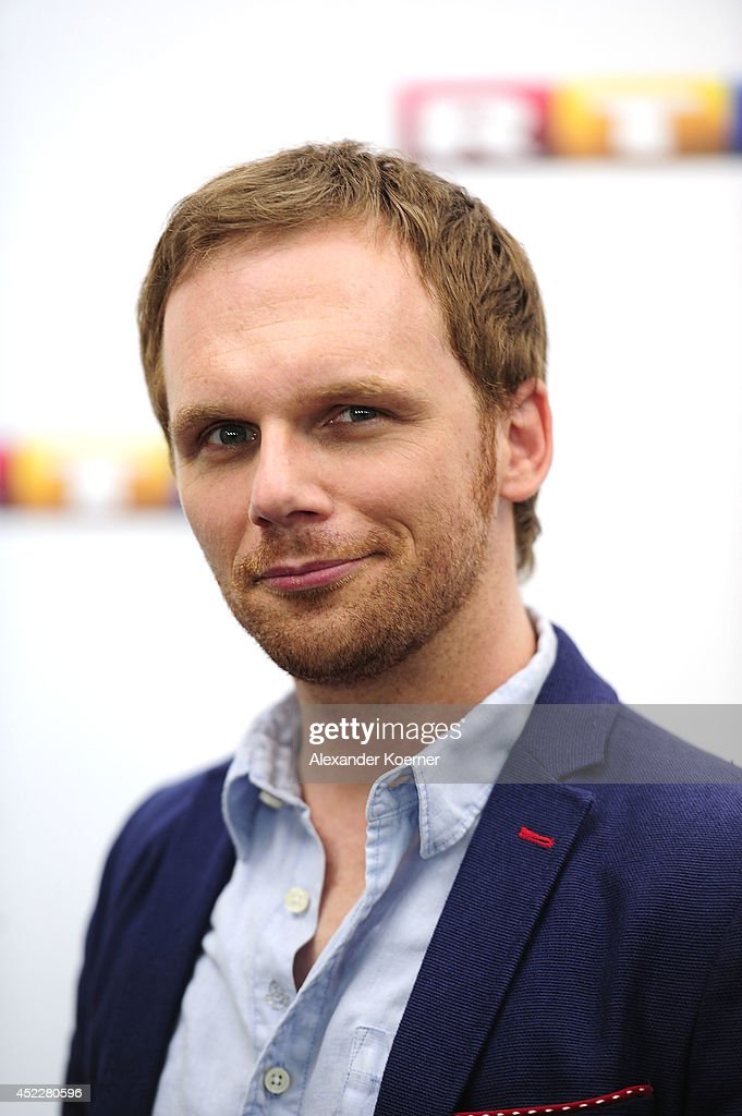 Comedian Ralf Schmitz attends the offical Television programm-preview of german television production RTL on July 17, 2014 in Hamburg, Germany. He will present the show 'Hotel Zuhause - Bitte stoeren', which will be shown nationwide later this year.