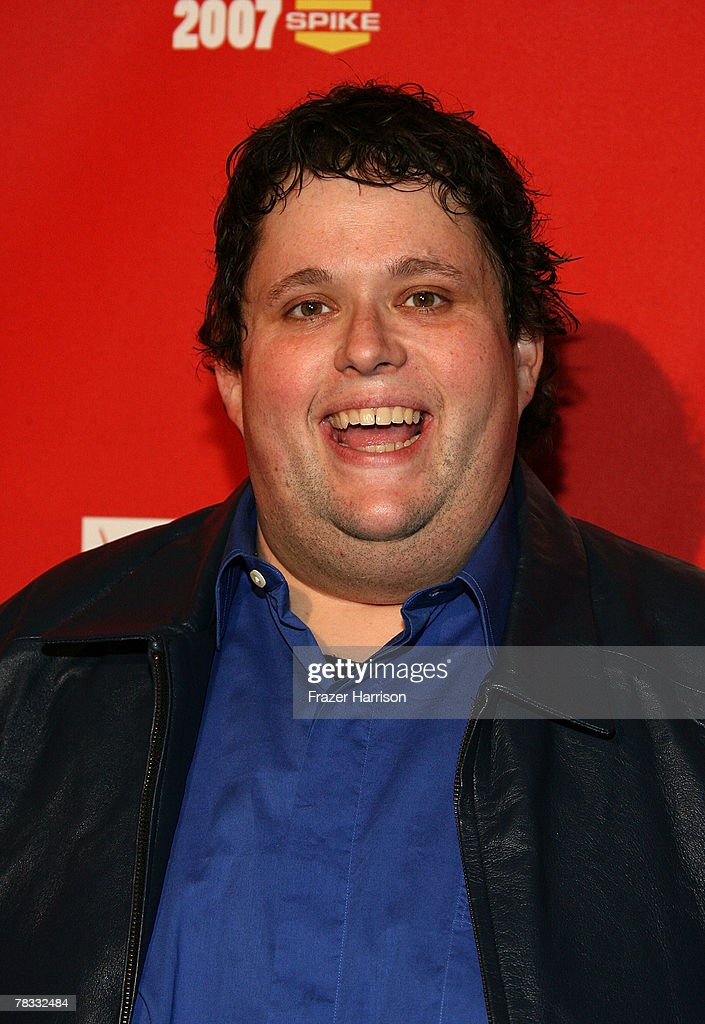 Comedian Ralphie May arrives at Spike TV's 2007 'Video Game Awards' at the Mandalay Bay Events Center on December 7, 2007 in Las Vegas, Nevada.
