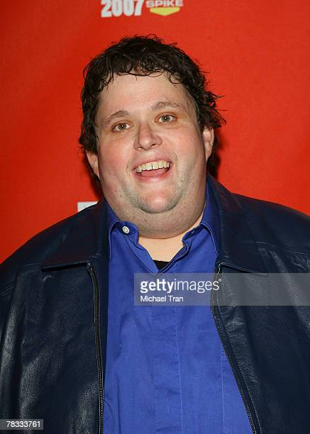 Comedian Ralphie May arrives at Spike TV's 5th Annual Video Game Awards held at Mandalay Bay Events Center on December 7 2007 in Las Vegas Nevada