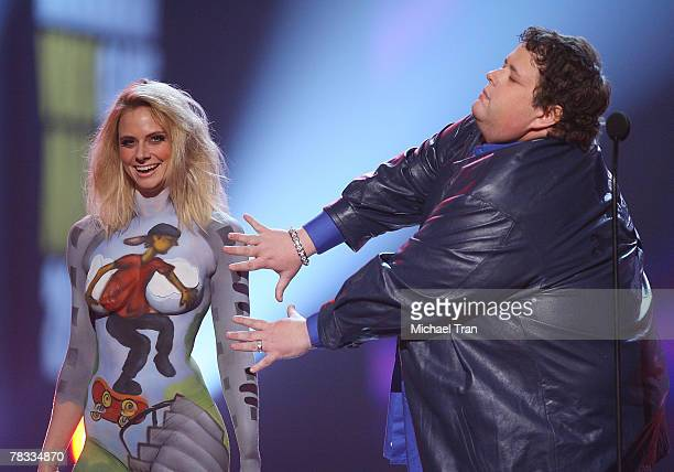 Comedian Ralphie May speaks at Spike TV's 2007 'Video Game Awards' at the Mandalay Bay Events Center on December 7 2007 in Las Vegas Nevada
