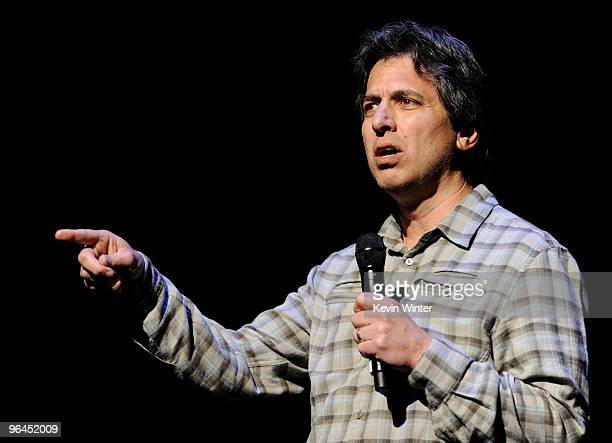 Comedian Ray Romano performs onstage at Help Haiti with George Lopez Friends at LA Live's Nokia Theater on February 4 2010 in Los Angeles California
