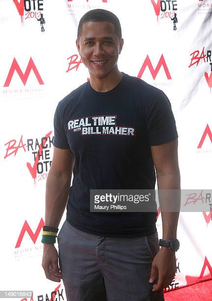 """Comedian Reggie Brown attends """"Ba-Rack The Vote"""" Fundraiser on July 21, 2012 in Los Angeles, California."""