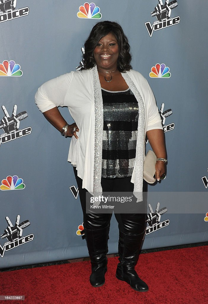 "Screening Of NBC's ""The Voice"" Season 4 - Arrivals : News Photo"