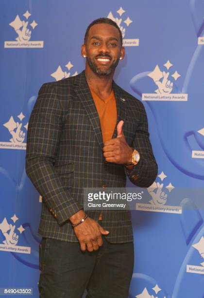 Comedian Richard Blackwood arriving at The National Lottery Awards 2017 at The London Studios on September 18 2017 in London England The Awards...