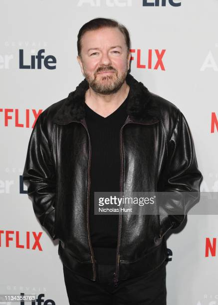 Comedian Ricky Gervais attends the After Life For Your Consideration Event at Paley Center For Media on March 07 2019 in New York City
