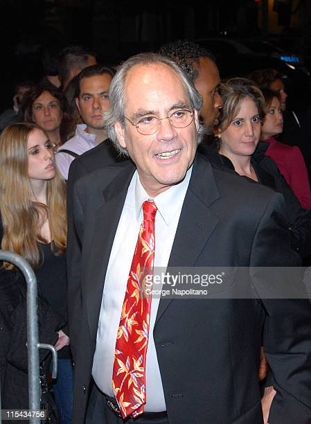 """Comedian Robert Klein arrives at """"Stand Up For A Cure"""" at the Hammerstein Ballroom October 11, 2007 in New York City."""