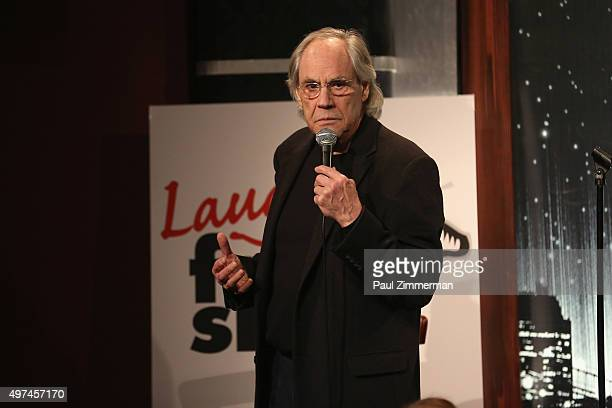 Comedian Robert Klein performs onstage at the 10th Annual Laugh For Sight NYC All-Star Comedy Benefit at Gotham Comedy Club on November 16, 2015 in...