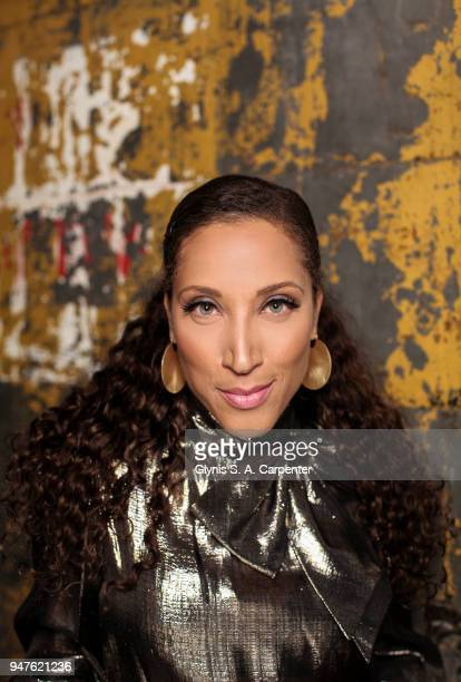 Comedian Robin Thede is photographed for Bust Magazine on November 17 2017 in New York City