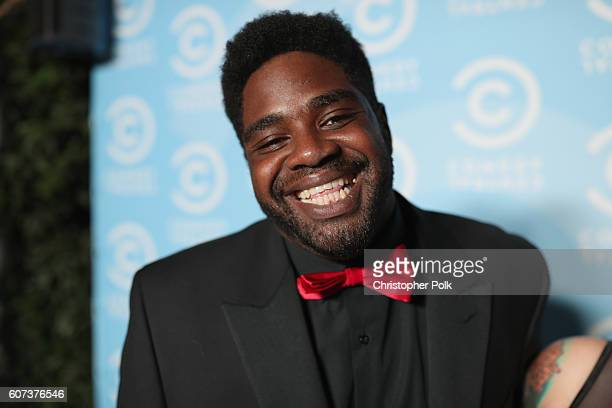 Comedian Ron Funches attends the Comedy Central PreEmmys Party at Boulevard3 on September 17 2016 in Hollywood California