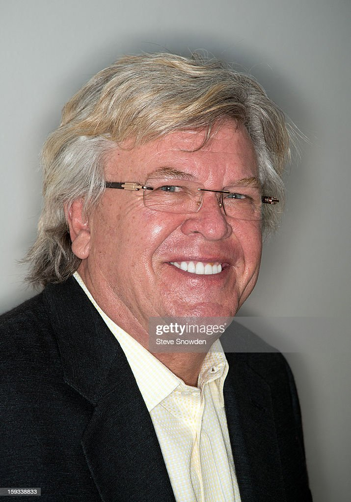 Comedian Ron White poses backstage at Route 66 Casino's Legends Theater on January 11, 2013 in Albuquerque, New Mexico.