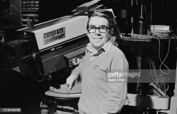Comedian Ronnie Corbett on the set of the BBC television show 'Ronnie Corbett's Saturday Special', February 25th 1978.