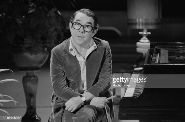 Comedian Ronnie Corbett presenting the BBC television show 'Ronnie Corbett's Saturday Special', February 11th 1978.