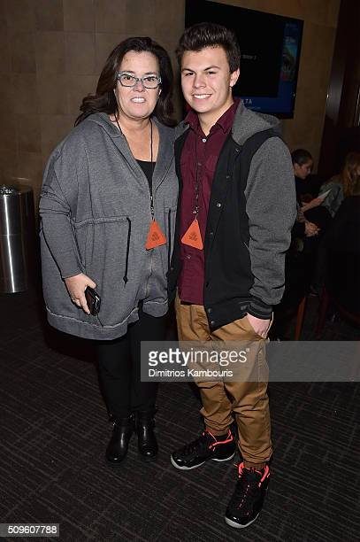Comedian Rosie O'Donnell and Blake O'Donnell attend Kanye West Yeezy Season 3 on February 11 2016 in New York City