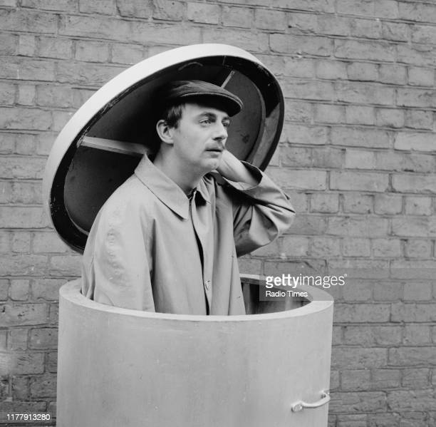 Comedian Roy Hudd in a sketch from the BBC television series 'The Illustrated Weekly Hudd' 1966