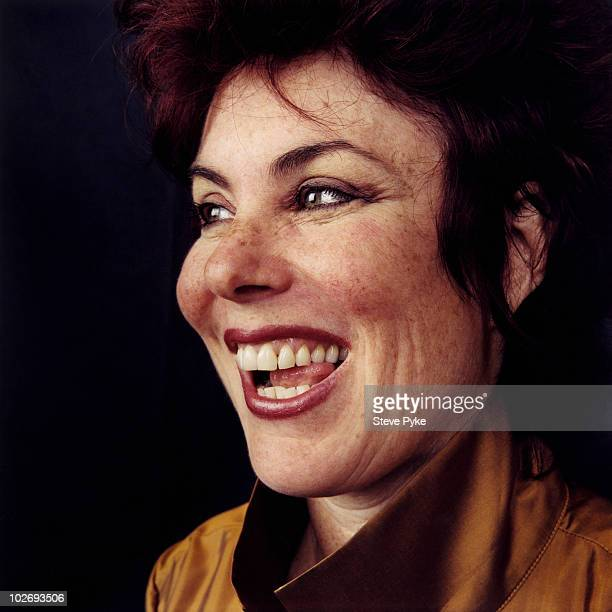 Comedian Ruby Wax poses for a portrait shoot in London UK