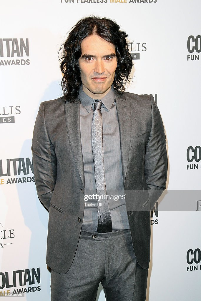 Comedian Russell Brand attends Cosmopolitan Magazine's Fun Fearless Males Of 2011 at The Mandarin Oriental Hotel on March 7, 2011 in New York City.