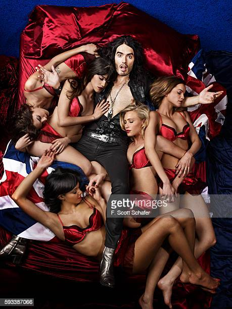 Comedian Russell Brand is photographed for Complex Magazine on March 15 2010 in New York City COVER IMAGE