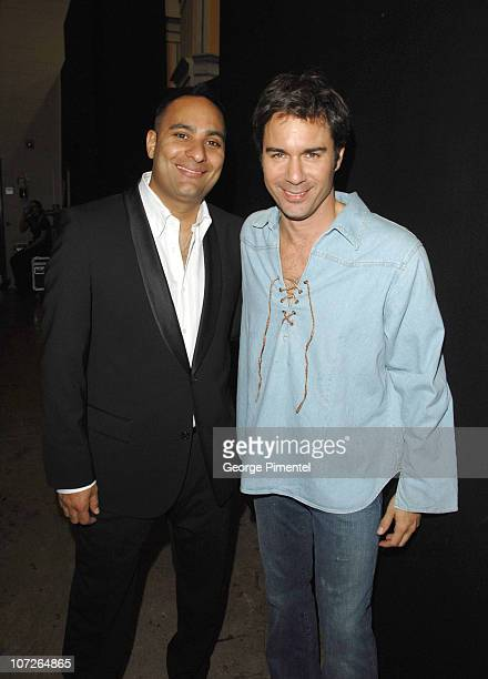 """Comedian, Russell Peters and Actor, Eric McCormack at The 6th Annual """"It's Always Something"""" Variety Show in Support of the Gilda's Club at the Elgin..."""