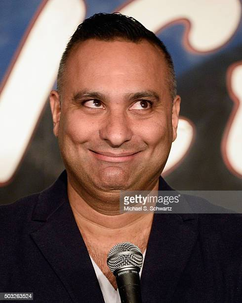 Comedian Russell Peters performs during his appearance at The Ice House Comedy Club on January 2 2016 in Pasadena California