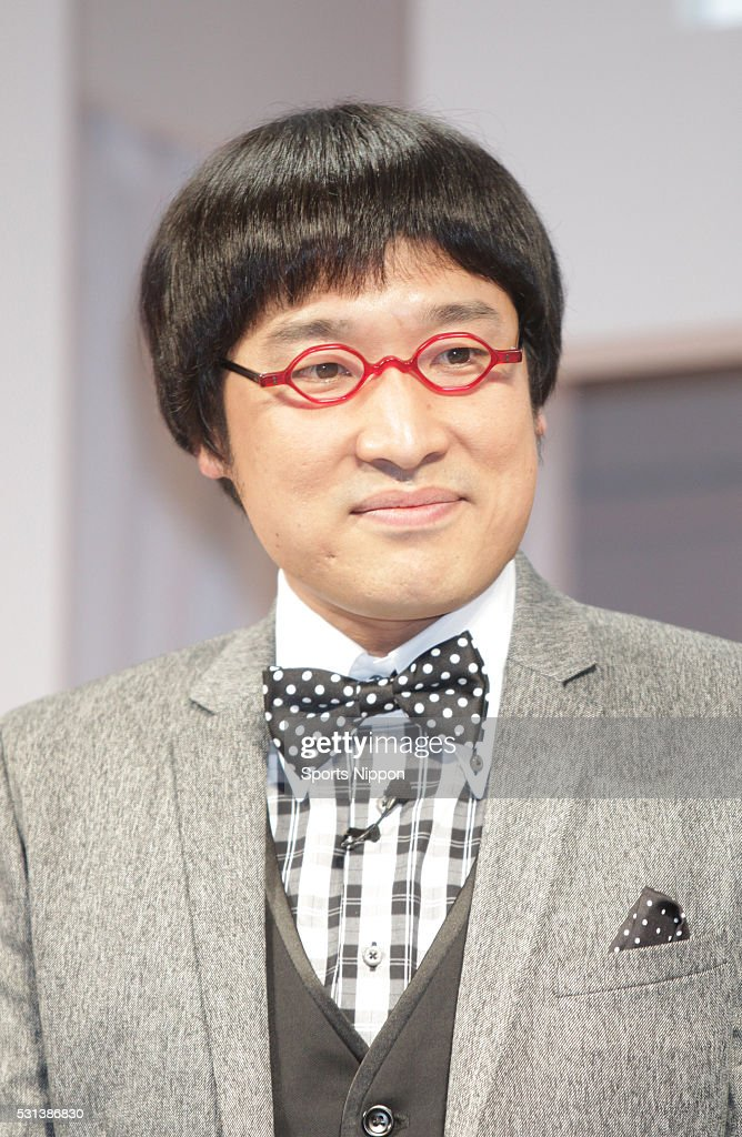 Ryota Yamazato Attends Press Conference In Tokyo : ニュース写真