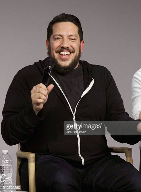 Comedian Sal Vulcano attends Apple Store Soho Presents Meet The Impractical Jokers at Apple Store Soho on February 15 2016 in New York City